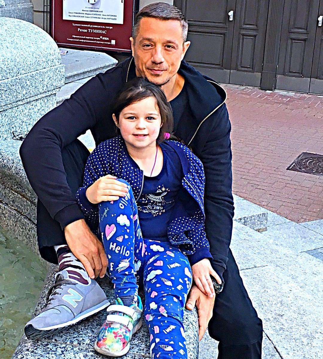 Алексей Макаров с дочерью