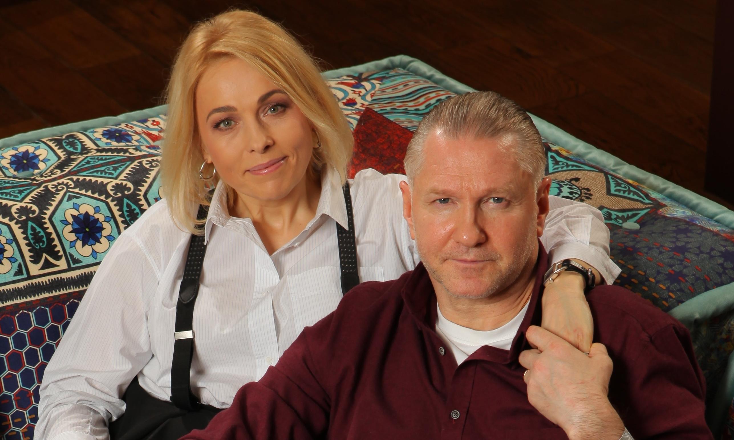 Анна Легчилова со своим мужем И. Бочкиным
