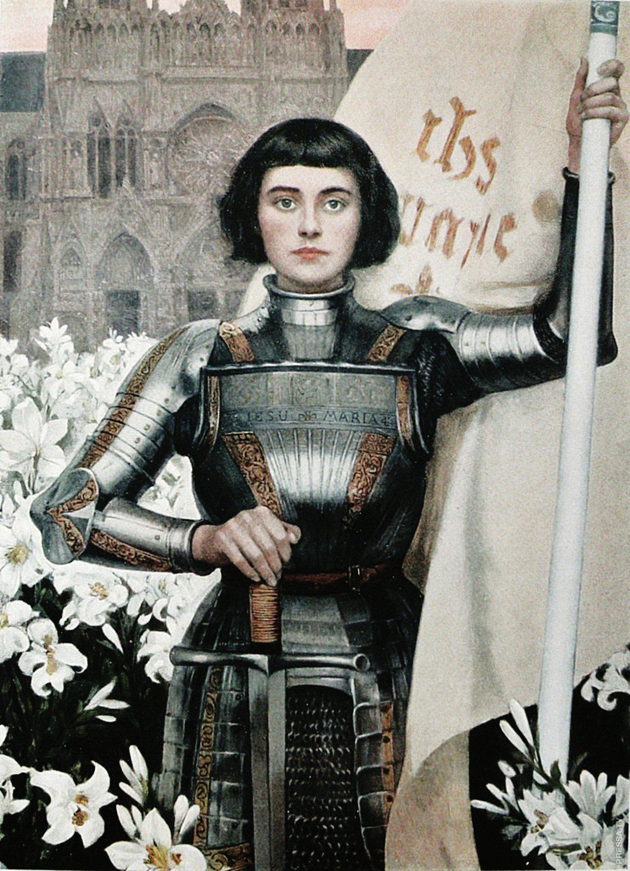 Жанна Дарк воин