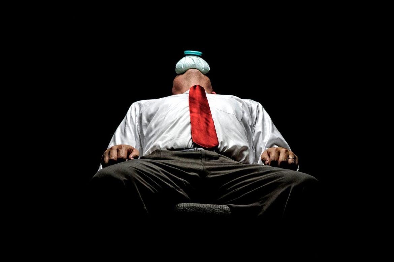 гипомания приводит к истощению и апатии