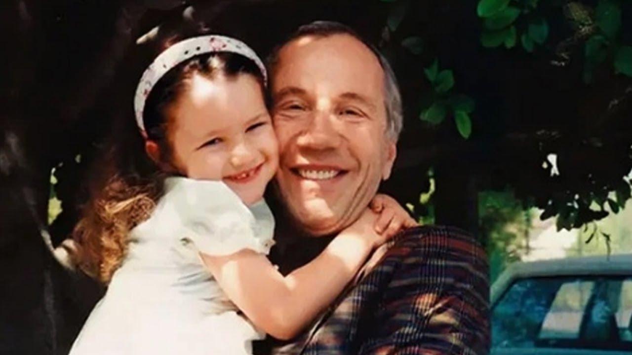 Савелий Крамаров со своей дочкой
