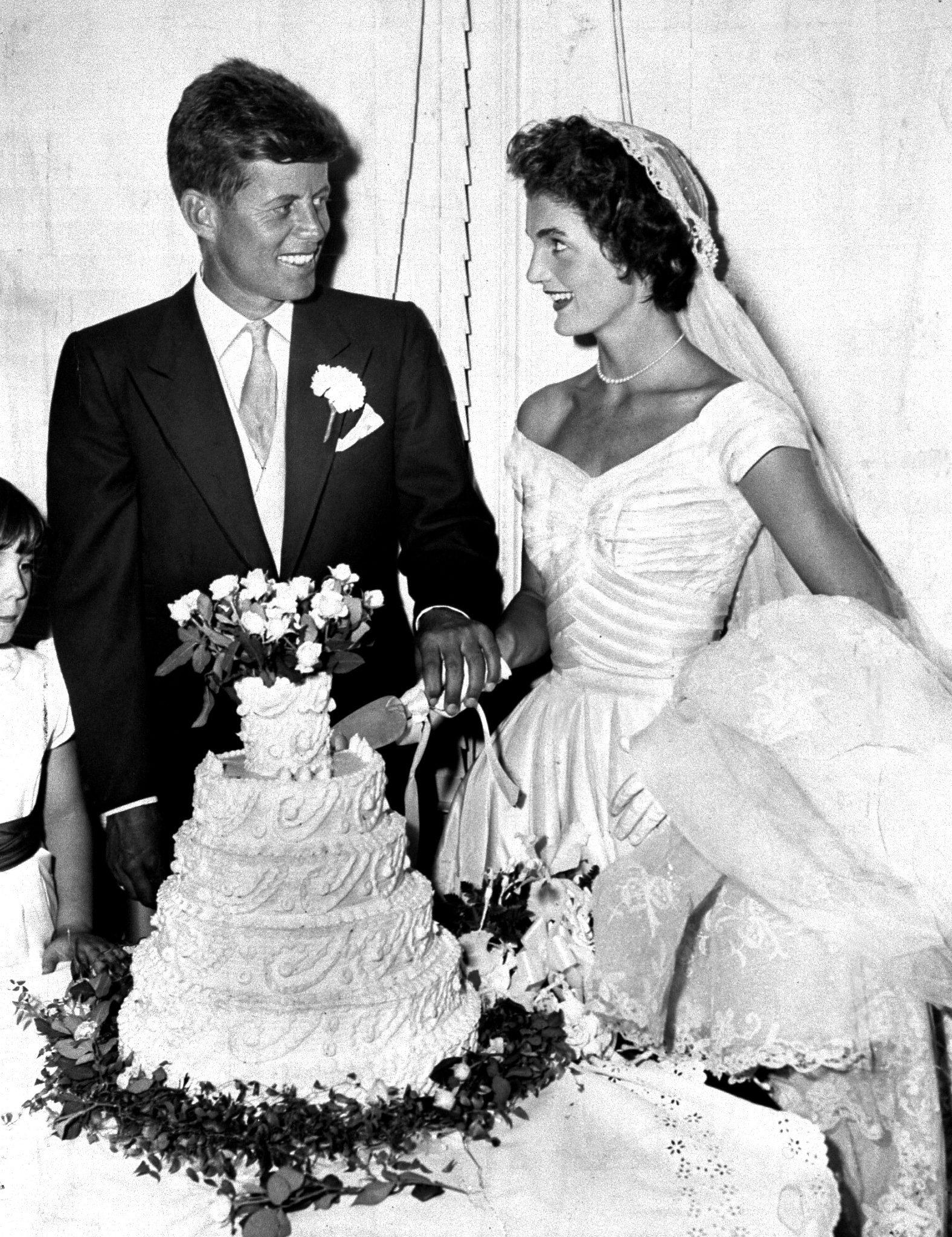 Жаклин Кеннеди: свадьба