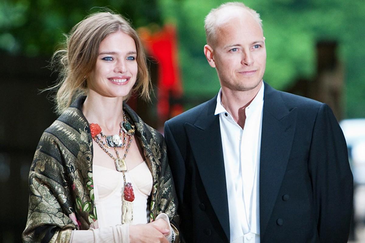 Наталья Водянова с с ее первый муж Джастином Портманом