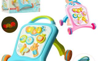 Ходунки-каталка – полезная игрушка для малышей