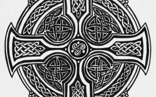 Кельтский крест – значение и гадание Таро