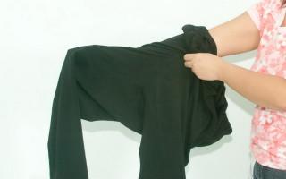 Надеть одежду наизнанку: значения примет