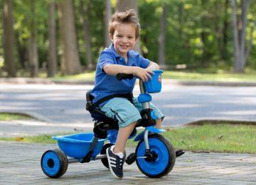 Критерии выбора трехколесного велосипеда для ребенка