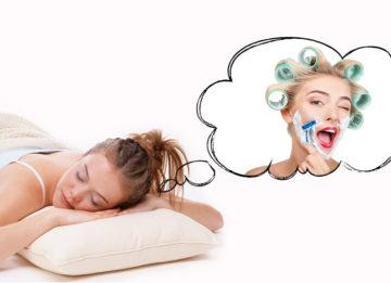 Бриться во сне - толкование различных сонников